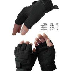 Тактические военные Half-Finger Fingerless Airsoft охота на лошадях велосипедного спорта защитные перчатки