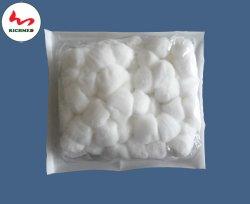 Boule de coton pour les hôpitaux chirurgicaux/ 100 % d'hydrogène Peroxyde de coton blanchie //soins de plaies non pelucheux avec ce & ISO13495, la FDA répertoriés.