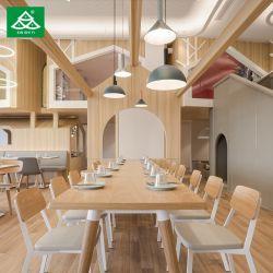Banheira de venda de mobiliário moderno Restaurante Madeira Design Conjunto de mesa de jantar