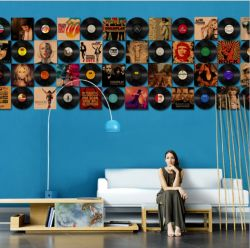 屋内およびホーム装飾のための現代デザイン金属の壁の芸術