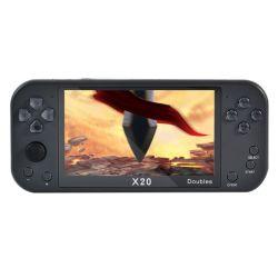 2021 وصول جديد X20 تم تصميم وحدة تحكم ألعاب الفيديو الرجعية المحمولة باليد في 16 جيجابايت لاعب لعبة الشاشة 7 بوصة دعم لاعبين