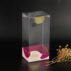 Casella glassata piegatura personalizzata di imballaggio di plastica del PVC dell'animale domestico di stampa
