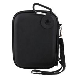 Cassa esterna personalizzata del disco rigido dell'elemento portante della gomma piuma materiale protettiva portatile impermeabile nera di rettangolo HDD EVA