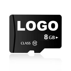 شعار مخصص SD / بطاقة TF الفئة 10 بسرعة 4 جيجا بايت بسرعة 16 جيجا بايت بطاقة ذاكرة Cid Micro SD سعة 32 جيجابايت للسيارة GPS