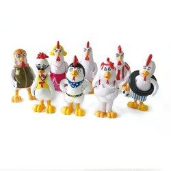 Kundenspezifischer OEM 3D Tier PVC Aktion Figur