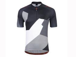 Hombre de tejidos de punto de manga corta de bicicletas Camiseta de secado rápido desgaste de ciclismo