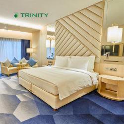 맞춤 제작 현대식 5성급 객실 세트 가구, 고급 호텔 Hospitality Resort Villa Apartment를 위한 침실 가구