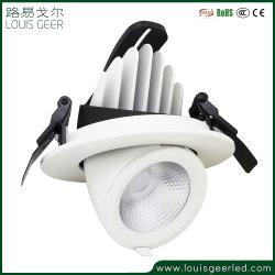Adicionar ao Compareshare 35W Refletor rebaixado Modo Tri-Lighting Segmentally Praça redonda de controle de luz descendente de LED