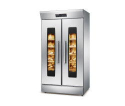 상업용 제빵 기구 32트레이 스테인리스 스틸 전기 뜨거운 공기 순환 대류 빵 프로포퍼