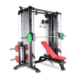 Equipos de gimnasio/equipos de gimnasia Multi cable de cruce y Smith máquina