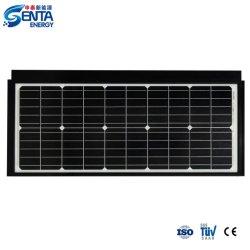 Venda por grosso de eficiência de alta qualidade Melhor 55W constituídos/Mono Painel Solar Telha Home PV a energia solar do Sistema de Alimentação