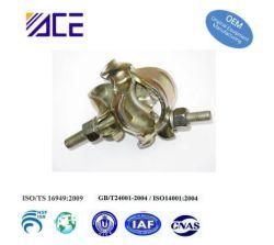 표면이 있는 비계/OEM 금속 클램프용 산업용 관형 클램프 치료