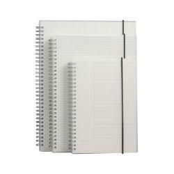 A5 반지 바인더 도매 투명한 덮개 전표 주문 로고 승진 PVC 노트북