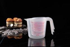 Мерный стакан 1000 мл пластмассовые родился в стакан прозрачный с ручкой для лабораторной работы на кухне жидкостей 1ПК