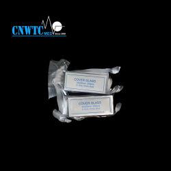 알루미늄 호일 패키지가 있는 실험실용 22x22mm 커버 유리