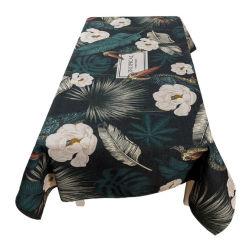 Европейский стиль скатерть водонепроницаемый полиэстер смешанных цветов при печати с цветочным рисунком прямоугольного сечения Скатерть