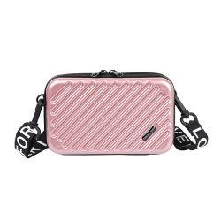 O uso de viagem portátil cosméticos ABS + PC Hard Shell Makeup caso o saco da Caixa
