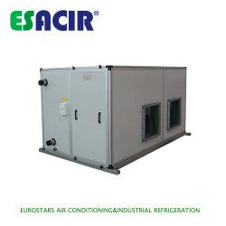 El agua de la bobina del ventilador Inveter Dx Ahu modular de controlador aéreo de la unidad de tratamiento de aire