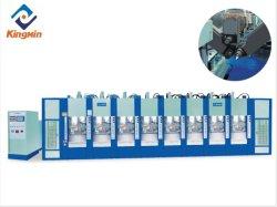 Gepatenteerde uitvinding volledig automatische EVA drie Multi Colors schuimende schoenen Rubberen Slippers Sportschoen Sole Making Injection Molding machine Taiwan Machine