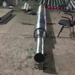 Токарный станок CNC углеродистая сталь кованый кованый штамповочный шаговый вал для Тяжелые машины