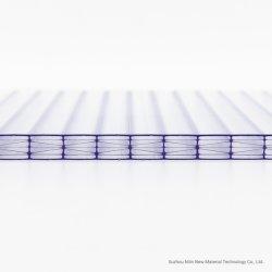 Kundenspezifisches Größen-Polycarbonat-Sonnenschein-Höhlung-Blatt mit hoher Feuer-Bewertung