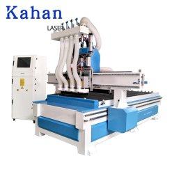 Fräser 1325 CNC-3D 4 Mittellinie CNC-Fräserengraver-Maschine für Schaumgummi, Boot, Gesicht, Karosserien-Modell