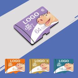 Cartão de memória de marca do OEM o logotipo personalizado Full HD 1080P carro câmara acção DVR Classe de cartão de memória do gravador de vídeo 10 U3 Micro SD TF Card