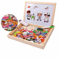 Juguete magnético educativos Puzzles de madera con certificado CE