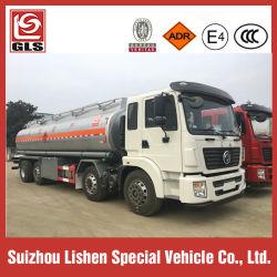 Diesel van de Olietanker van de Vrachtwagen 25000L van de Tanker van de brandstof Vervoer