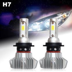 2 年保証安い H27 H13 H11 H1 H4 H7 9006 9004 8000lm 12V 車のための LED の自動ヘッドライトの球根