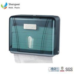 Molde de inyección de plástico personalizadas impresas Caja contenedor de papel higiénico