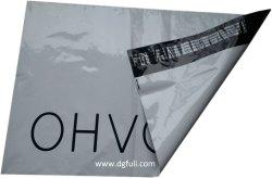 Personalizado de alta calidad impresa Co-Extrusion Flexible opaco gris de la bolsa de correo