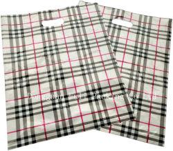 Sacchetto di acquisto di plastica tagliato alta qualità riciclabile dell'indumento di densità bassa del sacchetto di acquisto