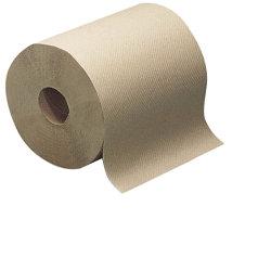 Ultra absorbente comercial Kraft reciclado herida duro el rollo de papel toalla
