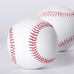 Из натуральной кожи крупного рогатого скота официальных бейсбольный мяч шерсть Корк Core бейсбольный мяч