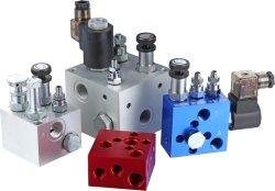 Hydraulische CNC-maschinell bearbeitenverteilerleitungen für Aufzug-Geräten-/Lift-Plattform-/Cargo-Aufzug