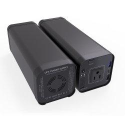 Выходной сигнал переменного тока 110 В портативных 12В постоянного тока питания UPS