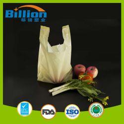 Пнд желтый пластиковый мешок, футболки T пластиковый мешок для покупок