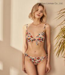 Linmax OEMデザイン女性セクシーなBeachwearの熱い販売のビキニ