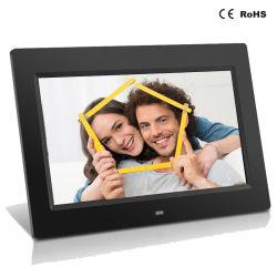 10.1 pouces Cadre photo numérique avec capteur de mouvement vidéo publicitaire de l'affichage