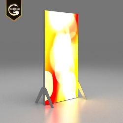 アクリルの正方形LEDのライトボックスの単一のDoublieの側光ボックスはLED -0416fに署名する