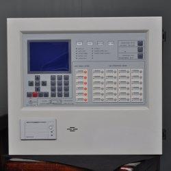 Pantalla LCD Digital direccionable alarma de incendio en el cable del panel de control del sistema de alarma