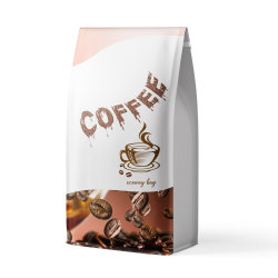 薄板にされる袋のコーヒー茶パンの食品包装袋を立てなさい