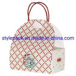 특별하 모양 부대 또는 선물 핸드백 또는 아트지 핸드백