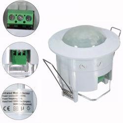 interruttore di comando infrarosso automatico dell'indicatore luminoso del sensore di movimento del supporto PIR della parete di CA di 110V ~220V