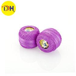 真珠の球で縫う衣服のアクセサリ手のための100%年の綿のマクラメの糸