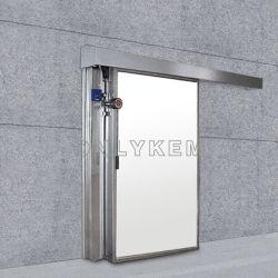Sala de congelador de armazenamento a frio para alimentos de porta corrediça
