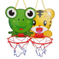 Novo design do basquetebol deitado de desenhos animados para crianças