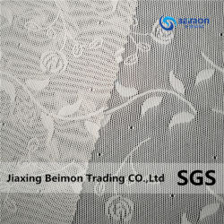 140gsm de nylon tricotado e Spandex Lingerie Stretch Lace tecido Jacquard