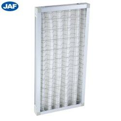 Libro Blanco de la eficiencia de primaria Filtro de aire de marco plegable tipo placa filtrante